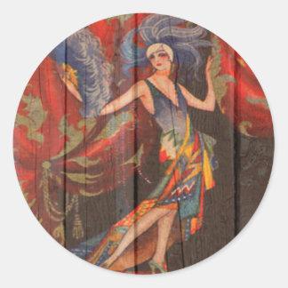 The Showgirl Classic Round Sticker