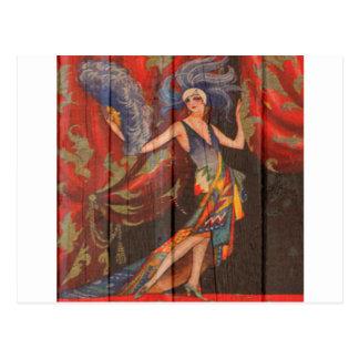 The Showgirl Postcard