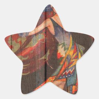 The Showgirl Star Sticker