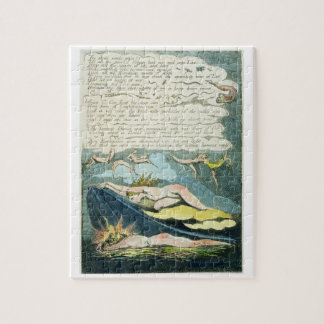 'The shrill winds wake...', plate 5 from 'Europe. Jigsaw Puzzle