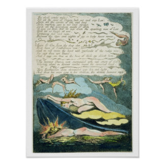 'The shrill winds wake...', plate 5 from 'Europe. Poster