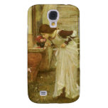 The Shrine by JW Waterhouse, Vintage Victorian Art Samsung Galaxy S4 Cover