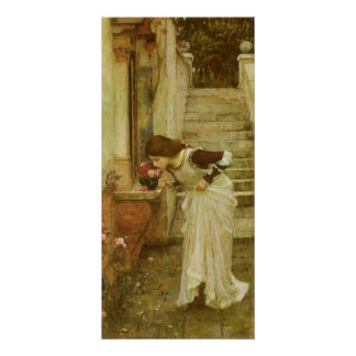 The Shrine by JW Waterhouse, Vintage Victorian Art Poster