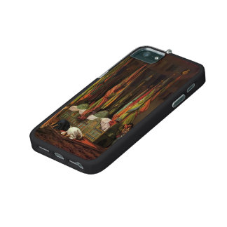 The Shrine of Imam Hussein by Jean-Leon Gerome iPhone 5 Cases