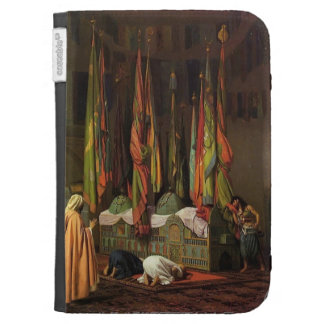The Shrine of Imam Hussein by Jean-Leon Gerome Kindle Keyboard Case