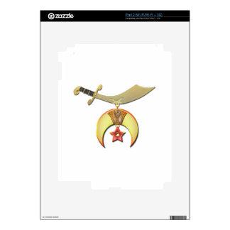 The Shriner iPad 2 Decals