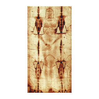 The Shroud Of Turin Stretched Canvas at Zazzle