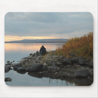 The Shutterbug at Twilight Photography Mousepad
