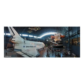 The Shuttle Discovery Poster