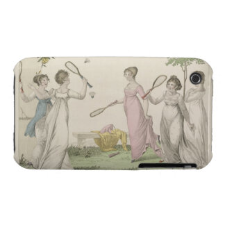 The Shuttlecock, plate 11 from 'Le Bon Genre', 180 iPhone 3 Cover