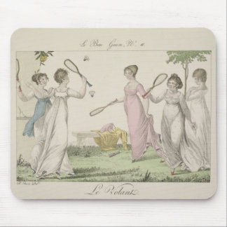 The Shuttlecock, plate 11 from 'Le Bon Genre', 180 Mouse Pad