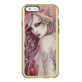 The Shy Flirt Abstract Fantasy Woman Art Incipio Feather Shine iPhone 6 Case