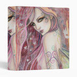 The Shy Flirt Modern Fairy Fantasy Art 3 Ring Binders