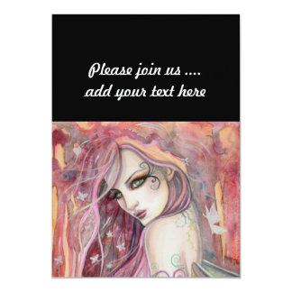 The Shy Flirt Modern Fairy Fantasy Art Card