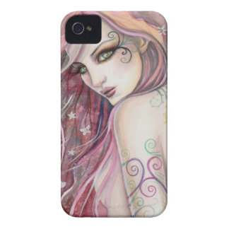 The Shy Flirt Modern Fairy Fantasy Art iPhone 4 Cover