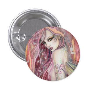 The Shy Flirt Modern Fairy Fantasy Art Pin