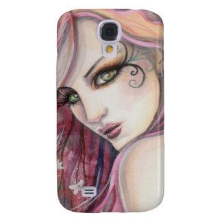 The Shy Flirt Modern Fairy Fantasy Art Samsung S4 Case