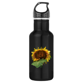 The Shy Sunflower 18oz Water Bottle
