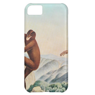 The Siamang Gibbon (1883) by Aloys Zotl iPhone 5C Cases