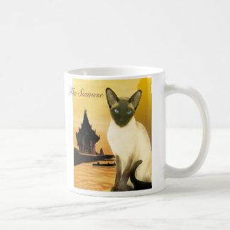 The Siamese Classic White Coffee Mug