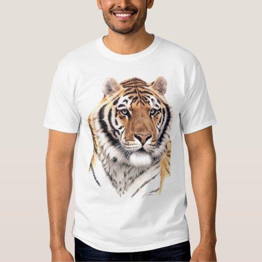 THE SIBERIAN TIGER PRINT SHIRT | Zazzle Cute Siberian Tiger Shirt