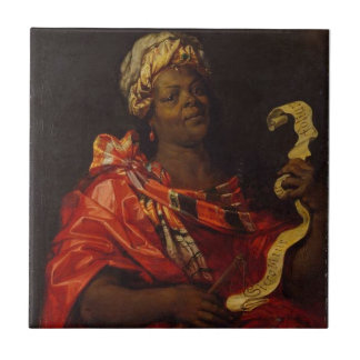 The Sibyl Agrippina Ceramic Tile