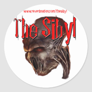 The Sibyl Sticker Round
