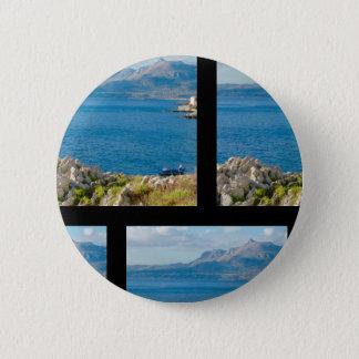 The Sicilian Fisherman Button
