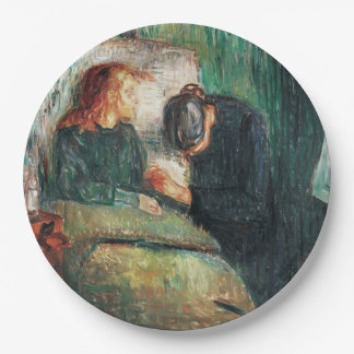 The Sick child by Edvard Munch, shows Sofie at her Paper Plate