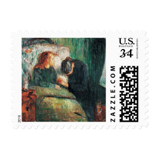 The Sick child by Edvard Munch, shows Sofie at her Postage