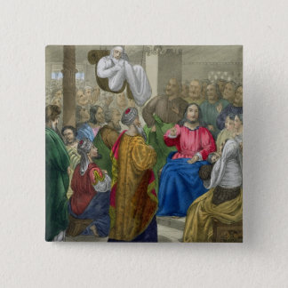 The Sick of the Palsy Brought to Christ by his Fri Button