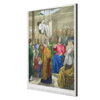 The Sick of the Palsy Brought to Christ by his Fri Gallery Wrap Canvas