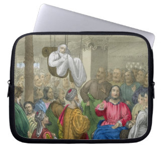 The Sick of the Palsy Brought to Christ by his Fri Computer Sleeves