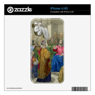 The Sick of the Palsy Brought to Christ by his Fri iPhone 4S Skins