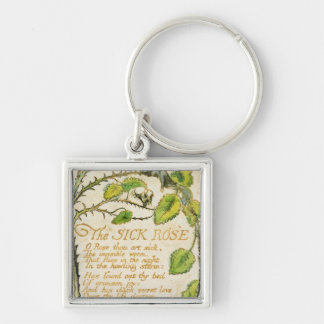 The Sick Rose, from Songs of Innocence Keychain