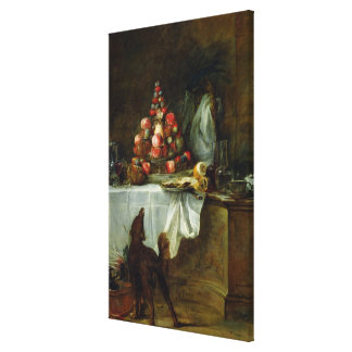 The Sideboard, 1728 Canvas Print
