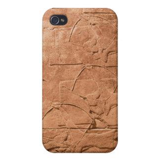 The Siege of Alammu by the army of Sennacherib iPhone 4 Covers