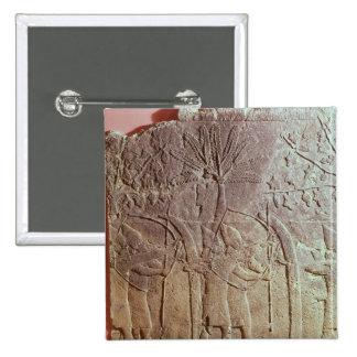 The Siege of Alammu by the army of Sennacherib Pinback Button