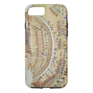 The Siege of Athens in 1827, from the Pictorial Hi iPhone 8/7 Case