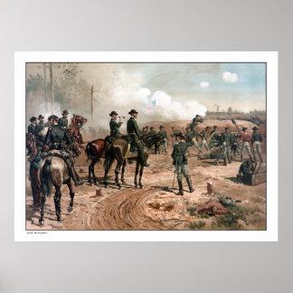 The Siege of Atlanta -- Civil War Poster