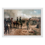The Siege of Atlanta -- Civil War Print