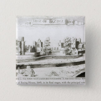 The Siege of Basing House, 1645 Pinback Button