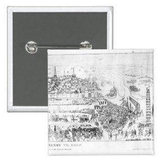 The Siege of Boulogne by King Henry VIII Button