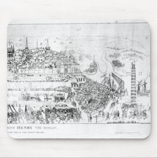 The Siege of Boulogne by King Henry VIII Mouse Pad