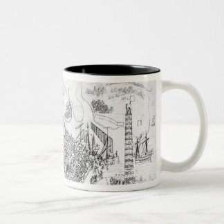 The Siege of Boulogne by King Henry VIII Mug
