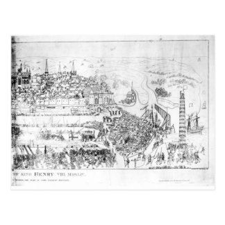 The Siege of Boulogne by King Henry VIII Postcard