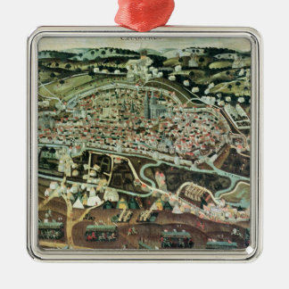 The Siege of Chartres in 1568 Metal Ornament