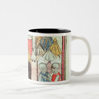 The Siege of Chateau-Gaillard Two-Tone Coffee Mug