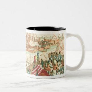 The Siege of Danzig Two-Tone Coffee Mug