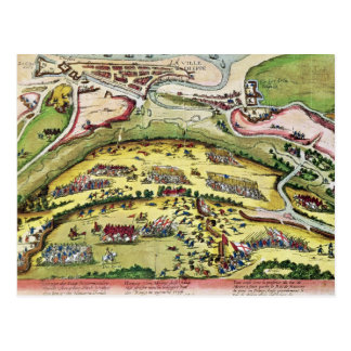The Siege of Dieppe in 1589, 1589-92 Postcard